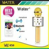 ซื้อ Wster Wireless Microphone Hifi Speaker Ws 858 เครื่องเล่นคาราโอเกะ บลูทูธ ไร้สาย ไมโครโฟนคอนเดนเซอร์ ลำโพง ในตัวเดียว สีดำ