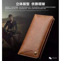 ราคา Wuw รุ่น P08 กระเป๋าสตางค์ ที่เก็บบัตร และซองใส่โทรศัพท์ในใบเดียว ใหม่