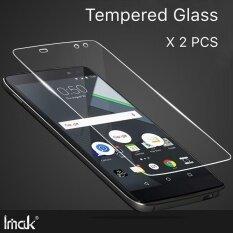 ขาย X 2 ชิ้น สำหรับ Blackberry Dtek60 Hd ล้างกระจกนิรภัยหน้าจอ ป้องกันฟิล์มสำหรับ Blackberry Dtek60 2 5D Full Coverage โทรศัพท์มือถือ กระจกนิรภัยฟิล์มป้องกัน ราคาถูกที่สุด