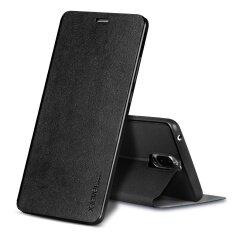 โปรโมชั่น X Level Slim Folio Leather Stand Case For Huawei Mate 9 Pro Mate 9 Porsche Design Black Intl ถูก