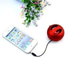 ราคา X มินิ 2 Ii สีดำลำโพงแคปซูล Mp3 สำหรับ Iphone Ipod แบบพกพาแบบชาร์จใหม่ได้ นานาชาติ Agbistue เป็นต้นฉบับ
