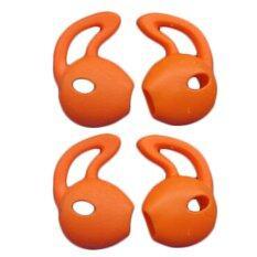 ราคา X Tips จุกหูฟัง Earhook นุ่มเบาสบายสำหรับหูฟัง Earpod สีส้ม ใหม่ ถูก