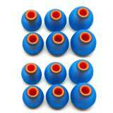ราคา X Tips Mix จุกหูฟังยาง 6 คู่ ผสม คุณภาพดี สีน้ำเงิน X Tips ใหม่