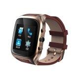 X01S Touch Screen Smart Watch 5 1 Android Phone Mtk6572 Dualcore1 3Ghz Wifi Gps Bluetooth Waterproof Pedometer Smart Bracelet Intl จีน