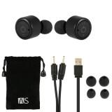 ซื้อ X1T True Wireless Bluetooth Headphone Stereo Bluetooth 4 2 Sport Headset Hands Free W Mic 8 Hours Music Time 8 Hour Talking Time Black For Running Gym Exercise Business Intl