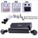 X2T Twins True Wireless Bluetooth Stereo Headset In Ear Earphones Earbuds หูฟังบลูทูธ หูฟังไร้สาย Bluetooth ถูก ใน กรุงเทพมหานคร
