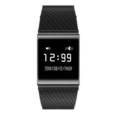 ขาย X9 Plus Ble 4 Heart Rate Smart Wristband Blood Pressure Oxygen Monitor Bracelet Black Intl จีน ถูก