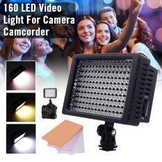Xcsource 160 Led ไฟส่องสว่างหรี่ได้ สำหรับ Canon Nikon Dslr Camera Camcorder Dv.