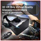 ราคา Xcsource กล่องแว่นตา 3D Vr Box Controller สำหรับ Samsung S4 S5 S6 Edge สีดำ ที่สุด