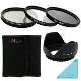 ขาย Xcsource ชุดเลนส์ Uv Cpl Nd4 Filter Set Lens Hood 58Mm สำหรับ Canon 70D 60D 700D 650D 600D เป็นต้นฉบับ