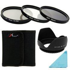 ซื้อ Xcsource ชุดเลนส์ Uv Cpl Nd4 Filter Set Lens Hood 58Mm สำหรับ Canon 70D 60D 700D 650D 600D ใน กรุงเทพมหานคร