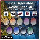 ขาย Xcsource ชุดฟิลเตอร์ 58Mm 9 ชิ้น Grad Graduated Color อุปกรณ์ทำความสะอาด สำหรับ Dslr Camera เป็นต้นฉบับ