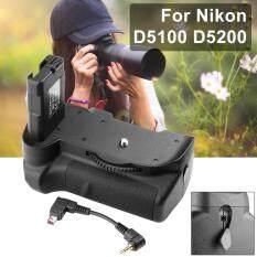 XCSource แบตเตอรี่กริป (ฺBattery Grip) สำหรับ Nikon D5100 D5200 D5300