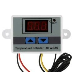 Zloyi Xh-W3001 Digital Led Microcomputer Thermostat Temperature Controller Switch 220v - Intl By Zloyi.