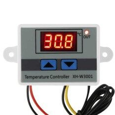 Xh-W3001 ดิจิตอลไมโครคอมพิวเตอร์อุณหภูมิเทอร์โมสวิทช์ควบคุม 220 โวลต์ - นานาชาติ By Dueplay.