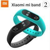 โปรโมชั่น Xiaomi Band 2 Heart Rate Monitor Cardiaco สายรัดข้อมือ Mi Fit Fitness Tracker For Andriod Os นาฬิกาอัฉริยะ
