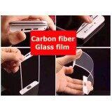 โปรโมชั่น ฟีล์ม กระจก ขอบนิ่ม Xiaomi Mi 5S Plus หน้าดำ กันรอย กันกระแทก Mi5Splus Carbon Fiber Glass Film Xiaomi