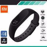 ซื้อ Xiaomi Mi Band 2 สายรัดข้อมืออัจฉริยะ Oled With Heart Rate Sensor Smart Bluetooth Wristband ใหม่ล่าสุด