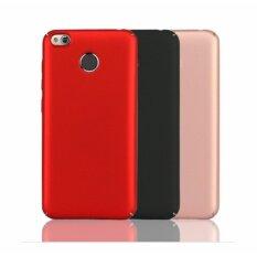 ราคา Xiaomi Redmi 4X เคสเนื้อ Pc ไม่กัดขอบเครื่องสีแดง ดำ น้ำเงิน Redmi4X B ใน กรุงเทพมหานคร