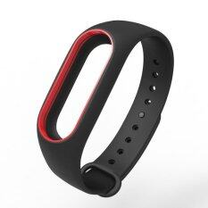 Xiaomi Wristband Strap for Xiaomi Mi Band 2 สายรัดข้อมือ กันหลุด 2 tone 2สี