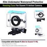 ราคา กรอบ กันน้ำ เคส ดำน้ำ สำหรับ Xiaomi Yi 1 Case Diving 40M Waterproof For Xiaomi Yi Xiaomi เป็นต้นฉบับ