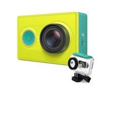 Xiaomi Yi Action Camera ( Green ) + Waterproof Case ( สีเขียว )