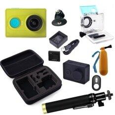 ซื้อ Xiaomi Yi Action Camera Standard Set Full Accessories Green Xiaomi