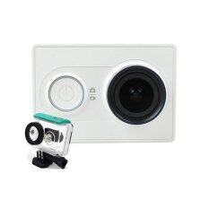 Xiaomi Yi Action Camera ( White ) + Waterproof Case สีเขียว