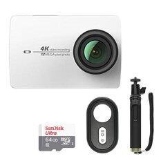 ราคา Xiaomi Yi Ii Wi Fi 4K 2 19 Sports Camera Set 64Gb Tf Cn Version Intl Xiaomi ใหม่