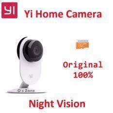 Xiaomi Yi Smart IP Camera Night Vision 720p กล้องวงจรปิด (สีขาว) เมนูภาษาอังกฤษ พร้อมเมมโมรี่ 32GB Samsung EVO