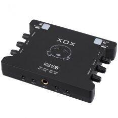XOX Sound Card External รุ่น KS108 (Black)