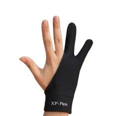 ราคา Xp Pen Drawing Glove ถุงมือวาดรูป สำหรับรองอุ้งมือตอนวาด ไซส์ L Xp Pen เป็นต้นฉบับ