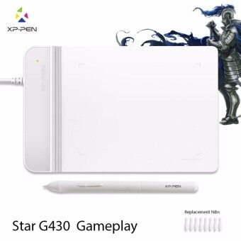 XP-Pen®G430S 4 x 3 inch Ultrathin Graphic Drawing Tablet for Game OSU and No Charging stylus- designed Gameplay - intl