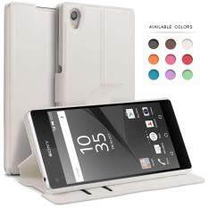 ซื้อ เคสโซนี่ Xperia Z5 Premium เคส โซนี่ เคสฝาพับ เคสฝาปิด เคสมือถือ ซองมือถือ กันกระแทก เคสพร้อมช่องใส่บัตร เคสหนัง Bez Pu Leather Slim Flip Case Cover For Sony Xperia Z5 Premium Ls Xz5P ใน กรุงเทพมหานคร