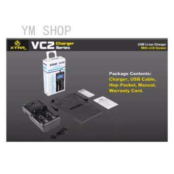 เครื่องชาร์จ XTRA VC2 USB Li-ion BATTERY LCD Charger