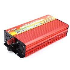 โปรโมชั่น Xuyuan 3000W Solar Car Power Inverter Dc 24V To Ac 220V Modified Sine Wave Vehicle Mounted Transformer Intl ถูก