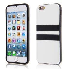 ซื้อ ยางซิลิโคนเจลนุ่ม Tpu เคสไฮบริดย้อนกลับครอบสำหรับ Apple Iphone 6 6S 11 94ซมขาว ต่างประเทศ ฮ่องกง