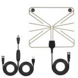 ราคา Ybc Indoor Hd Digital Tv Antenna With 50 Miles Long Range Amplifier 10Ft Coax Cable Intl เป็นต้นฉบับ