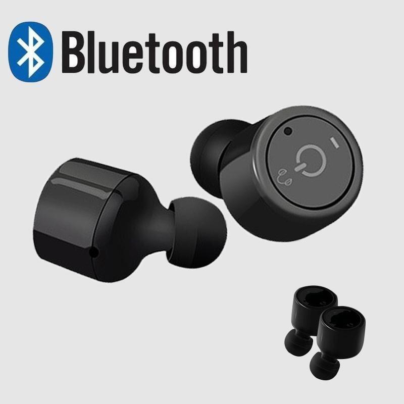 ของแท้และส่งฟรี หูฟัง iFlashDeal iFlashDeal หูฟังเอียบัดไร้สายหูฟังแบบพกพาหูฟังบลูทูธ 4.1 ชุดหูฟัง MINI ต่างหูหูฟังไร้สายแฮนด์ฟรีกีฬาเสียงประกาศ Bluetooth Earphone ร้านที่เครดิตดีที่1