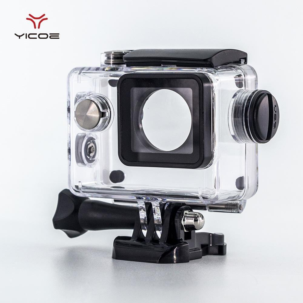YICOE Diving Waterproof Case Charger Shell With USB Cable for SJCAM SJ4000 WiFi Motorcycle Sj7000 EKEN H9 4k Action Sport Camera Accessories - intl