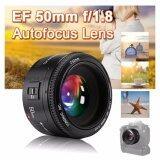 ราคา เลนส์ฟิก ละลายหลัง Yongnuo Prime Fixed Lens Yn 50Mm F1 8 For Canon Eos Dslr Ef Mount Black มีประกัน ถูก