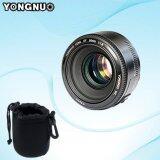 ขาย เลนส์ฟิก Yongnuo Prime Fixed Lens แถมถุงผ้า Yn50Mm F1 8 For Canon Eos Dslr Ef Mount Black มีประกัน ส่งด่วน 24 ชม Thailand ถูก