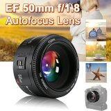 ขาย ซื้อ ออนไลน์ Yongnuo Yn 50มมเอฟ 1 8 ออโต้โฟกัสเลนส์ใหญ่รูสำหรับ Canon Eos กล้อง Lf651 Intl