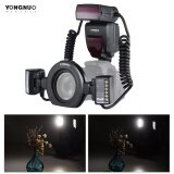Yongnuo Yn24Ex E Ttl Macro Flash Speedlite 5600K With 2Pcs Flash Heads And 4Pcs Adapter Rings For Canon Eos 1Dx 5D3 6D 7D 70D 80D Cameras Intl ใน ฮ่องกง