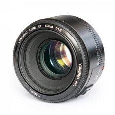 Yongnuo Yn50Mm F1 8 เลนส์มาตรฐานขนาดรูออโต้โฟกัสเฉพาะเลนส์สำหรับ Canon Ef เมาท์ Rebel Dslr กล้อง เป็นต้นฉบับ