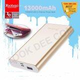 ซื้อ Yoobao P13 13000Mah Li Power Bank Lightning แบตเตอรี่สำรอง 2 1Amps ใน กรุงเทพมหานคร