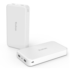 ขาย Yoobao Power Bank I8 10000 Mah Dual Usb White Yoobao ผู้ค้าส่ง