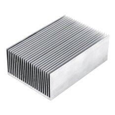 อลูมิเนียมฮีตซิงค์คูลลิ่งสำหรับ Led เครื่องขยายเสียงทรานซิสเตอร์ Ic  โมดูล 100*69 * 36mm.