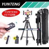 ขาย Yunteng ชุด ขาตั้งกล้อง พร้อมรีโมทบลูทูธ หัวต่อมือถือในตัว รุ่น Vct 5208 สีดำ Yunteng ผู้ค้าส่ง