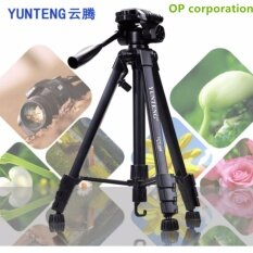 YUNTENG VCT-668 ขาตั้งกล้อง ขาตั้งมือถือ 3ขา  tripod for camera DV Professional Photographic equipment Gimbal Head new - intl